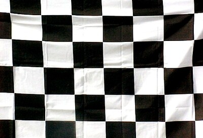 3' x 5' Flag - CHECKERED