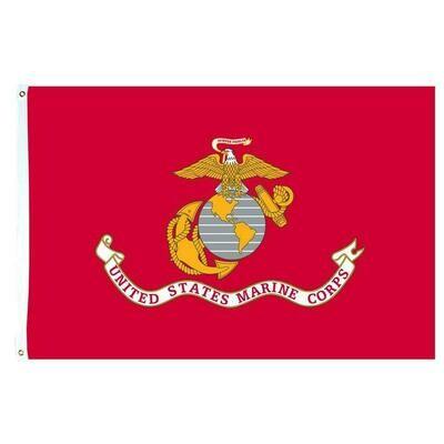 3' x 5' Flag - U.S. Marine Corps