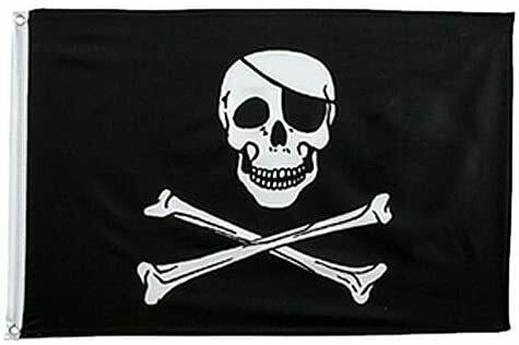 3' x 5' Flag - PIRATE