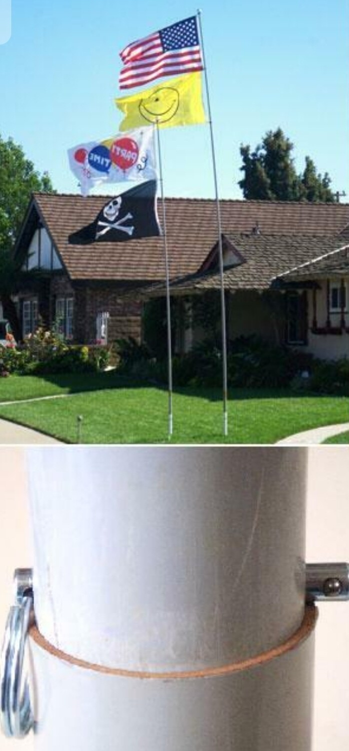 PNH-16- Deluxe  (**NEW & VERY POPULAR**) Flag Pole