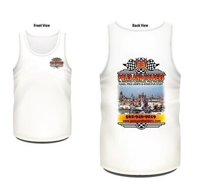Poles and Holders Mens tank top size Large