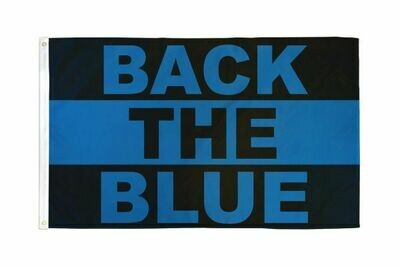 Back the Blue 3x5' Poly Flag