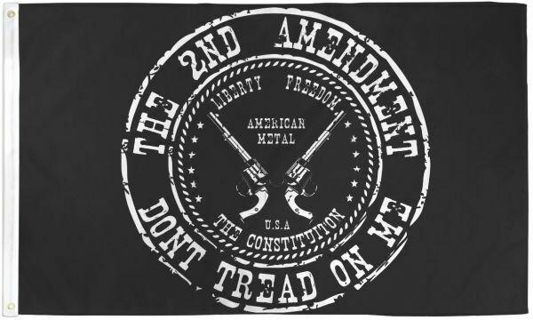 2ND Amendment 3x5' Poly Flag
