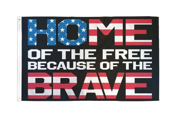 Home of the Free 3x5' Flag