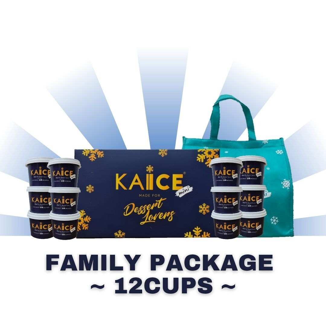 Family Pack - 12 cups