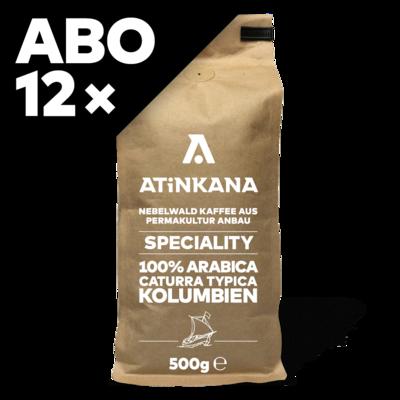 12 × Atinkana Kaffee 500g Speciality ABO