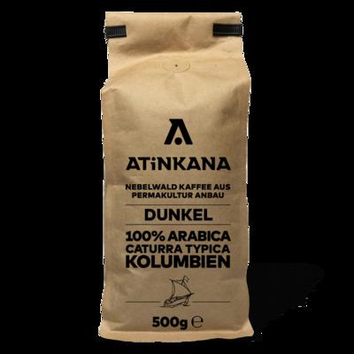 Atinkana Kaffee 500g Dunkel