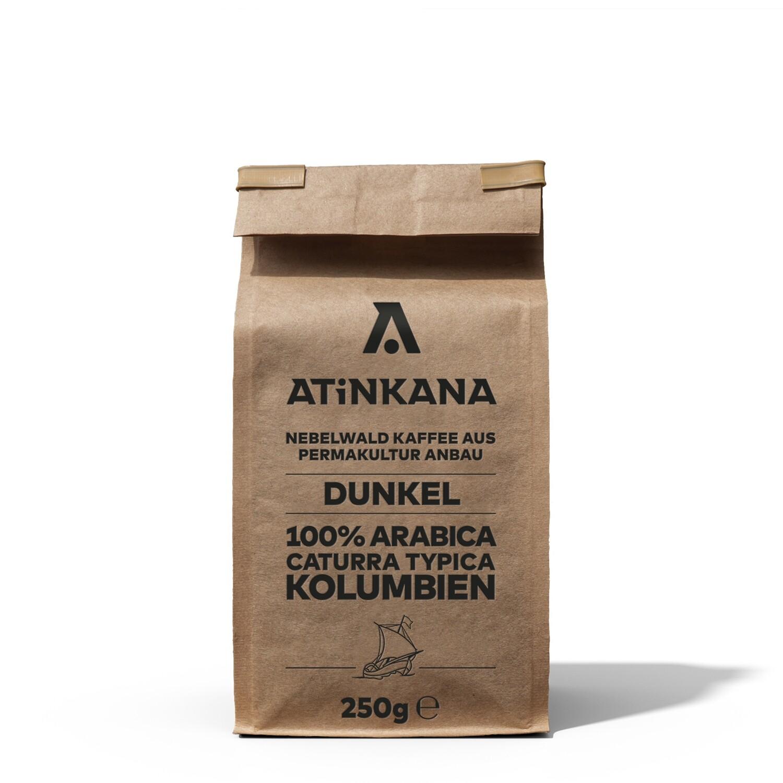 Atinkana Kaffee 250g Dunkel