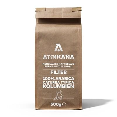 Atinkana Kaffee 500g Filter