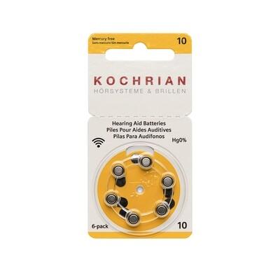 Hörgerätebatterien 10 (gelb) - Hausmarke