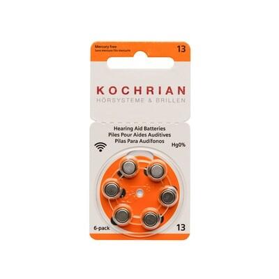Hörgerätebatterien 13 (orange) - Hausmarke