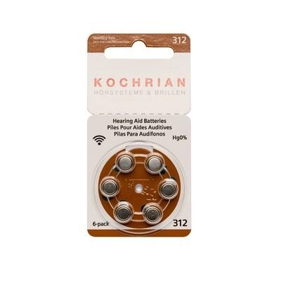 Hörgerätebatterien 312 (braun) - Hausmarke