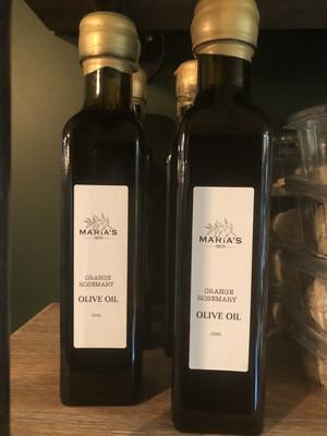Orange Rosemary Infused Olive Oil