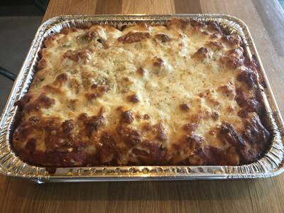 Pasta al Forno (Baked pasta tray, feeds 6-8)