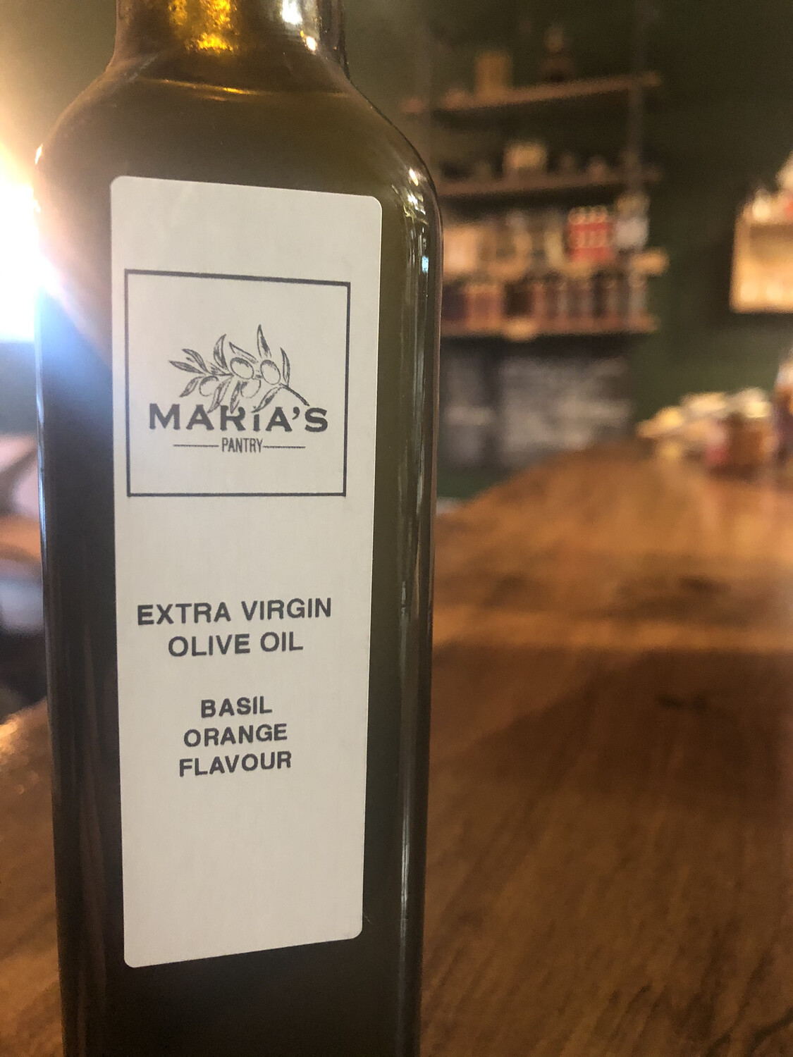 Basil & Orange Extra Virgin Olive Oil