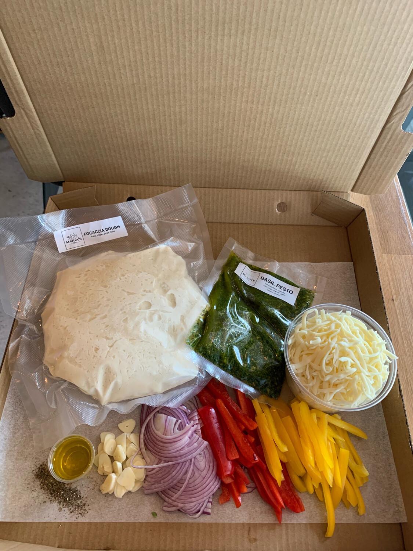 Veggie Pesto Pizza Kit
