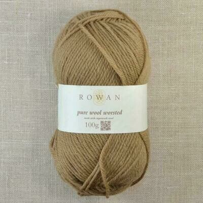 Pure Wool Worsted by Rowan - Colour Toffee