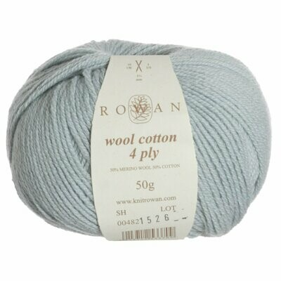 Wool Cotton 4Ply by Rowan - Colour Celanden