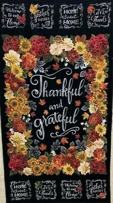 Thankful and Grateful Panel