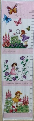 Sugar and Spice Growth Chart Panel