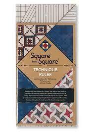 Square in a Square Mini Technique Ruler
