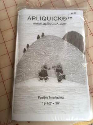 Apliquick Fusible Interfacing 19-1/2