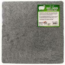17 x 17 Wool Ironing Mat