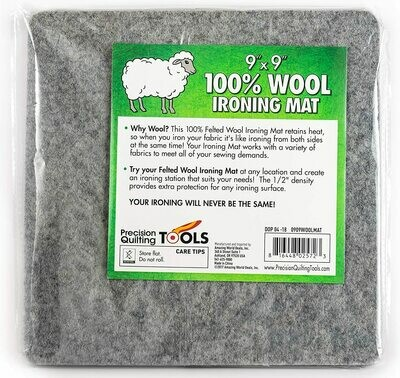 9 x 9 Wool Ironing Mat