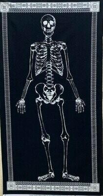 Glow in the Dark Skeleton Panel