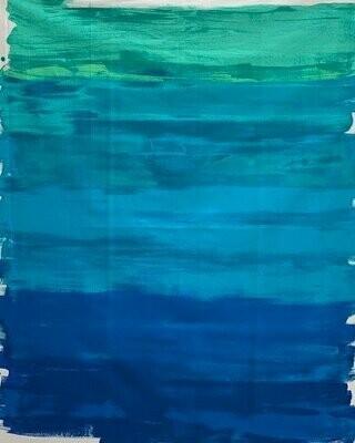 Paint Blue Panel