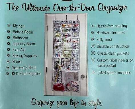 The Ultimate Over-The-Door Organizer