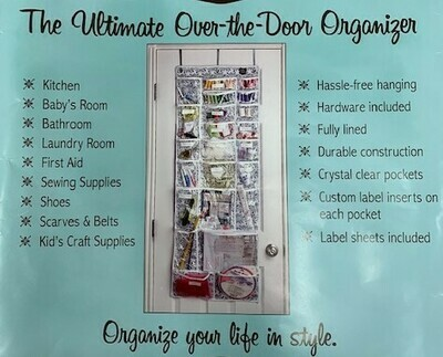 The Ultimate Over-The-Door Organizer