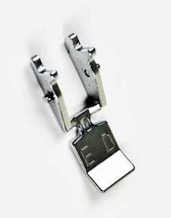 AcuFeed Zipper Foot ED Single 9mm