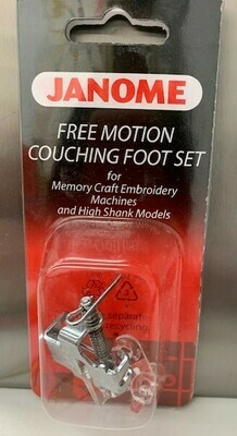 free motion couching foot 9mm