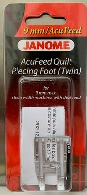 Janome AcuFeed Quilt piecing foot