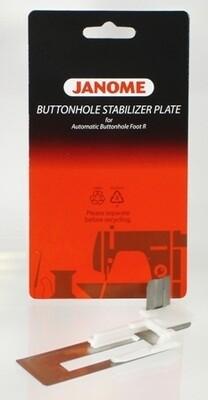 janome buttonhole stabilizer plate