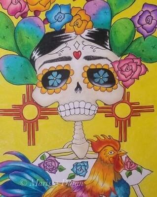 Flor de las Flores - Signed Print