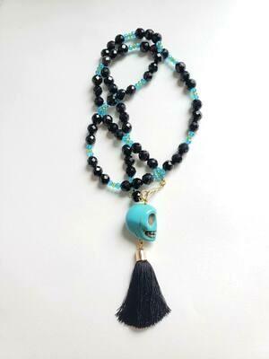 Dia De Los Muertos Tassel Necklaces