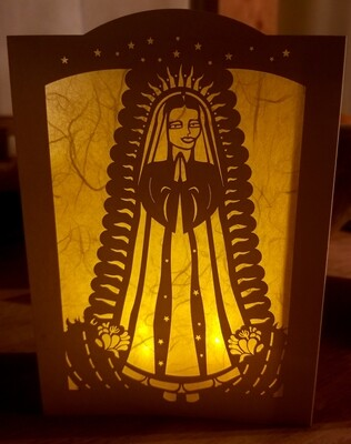 Luminaria Card-Our Lady of Guadalupe (2pk and 6 pk)