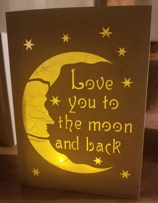 Luminaria Greeting Card