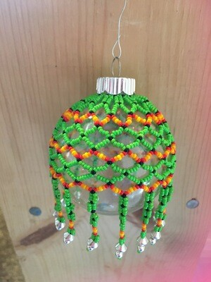 ​Large Beaded Ornament Cover