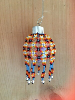 Small Beaded Ornament Cover