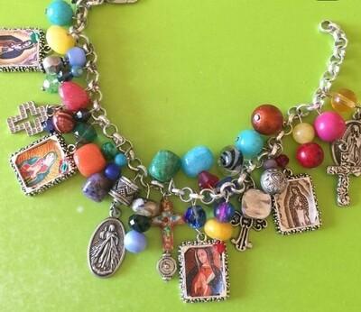 Guadalupe Charm Bracelet