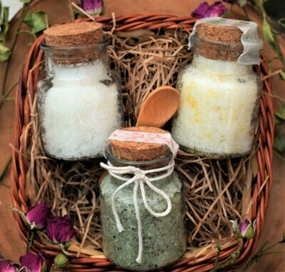 Sugar Scrub Basket