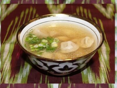 Chuchvara in Broth Soup