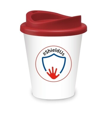 Shieldus reusable coffee cup! Pre order now for delivery 25th August.