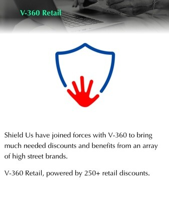 V-360 shieldus retail discounts