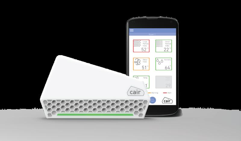 Nuwave Cair - De slimme luchtkwaliteitsmonitor