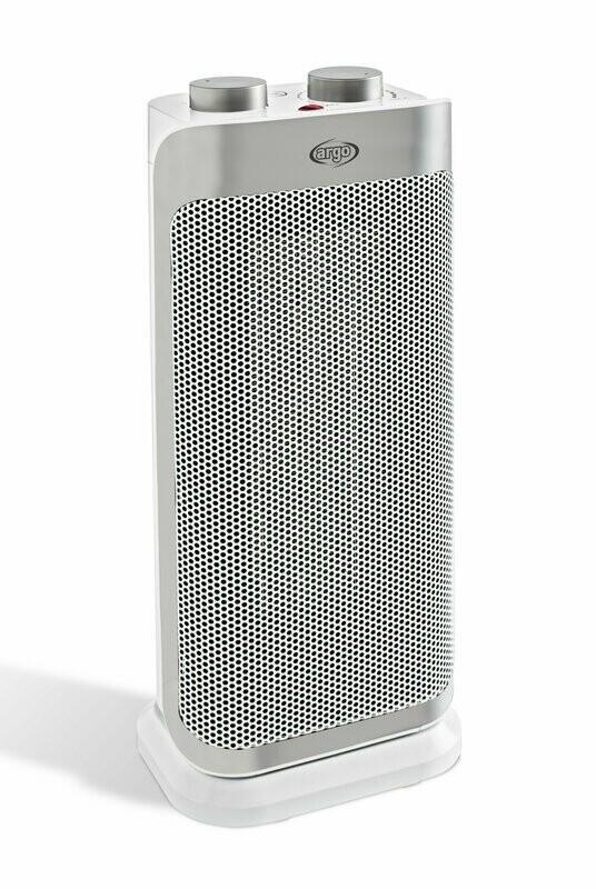 Argo Boogie Plus - Keramische Ventilatorverwarming / Anti-rollover