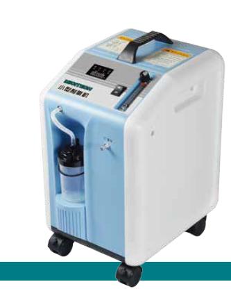 MICITECH CP502 - 5l Stabiele zuurstoftoevoer van medische kwaliteit